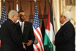 Netanyahu, Obama and Abbas