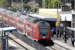 Israeli Railways on track