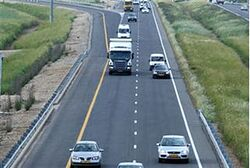 An Israeli highway (illustrative)