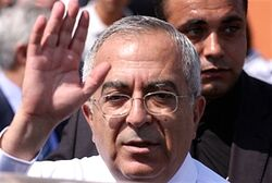 PA Prime Minister Fayyad
