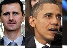 Assad and Obama