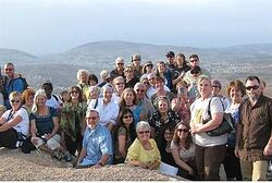 Dutch Christians Visiting Itamar