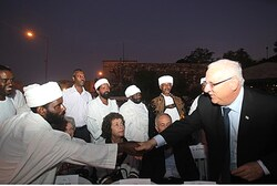 Rivlin and Ethiopian leaders