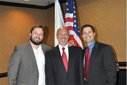 S. Carolina Rep. Alan Clemmons with Ari Abramowitz & Jeremy Gimpel