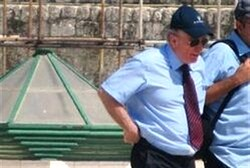 Yehuda Weinstein on Temple Mount