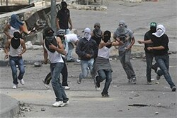 Arabs riot (archive)