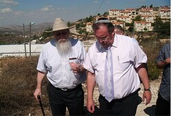 Ketzaleh and Hershkowitz in Binyamin