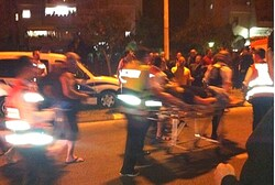 Attack Scene in Ashdod