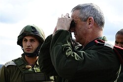 Gantz at an exercise.