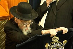 Rabbi Elyashiv at the Brit