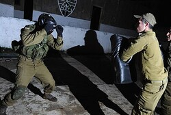 IDF hand-to-hand combat training
