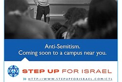 Step Up for Israel fights Israel Apartheid Week