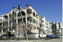 Damage in Homs, March 9 2012