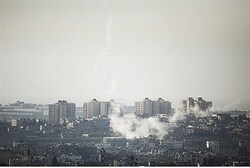 Rockets land in southern Israel