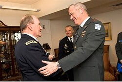 Dempsey and Lt. Gen. Gantz meet in Washington