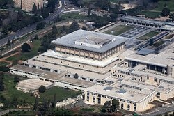 Is the Knesset in the capital of Israel?