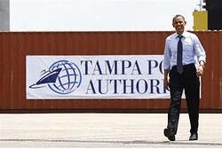 Obama in Florida (file)
