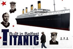Poster commemorating 100th anniversary of Titanic sinking