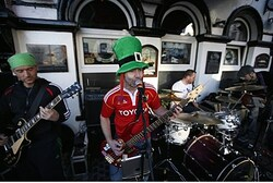 An Irish band