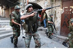 Lebanese Army in Tripoli