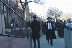 Chabad emissaries in Crown Heights neighborhood