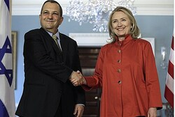 Barak and Clinton