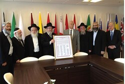 Rabbis meet with EU Ambassador