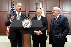 VP Joseph Biden Meets with Conference of Presidents