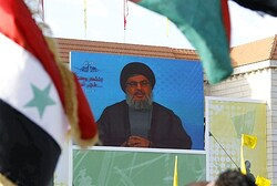 Nasrallah addresses supporters via video in Bint Jbeil