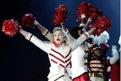 Madonna - more modest in UAE