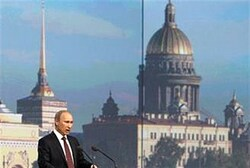 Putin speaks at the St.Petersburg International Economic Forum