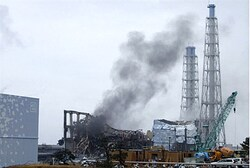 Fukushima Reactor No. 3 on 21 March 2011