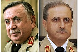 Two of Assad's top military officials killed