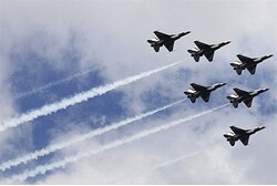 U.S. F-16 jets