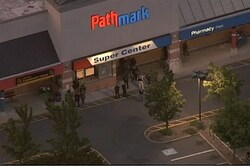 Site of shooting at Pathmark supermarket in Old Bridge, New Jersey
