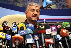 Iranian Revolutionary Guards commander General Mohammad Ali Jafari