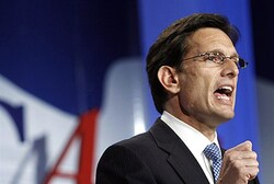 Republican House Majority Leader Eric Cantor (R-VA)