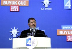 Morsi speaks in Turkey