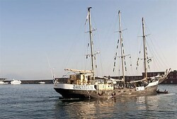 Estelle ship leaves from Naples to Gaza