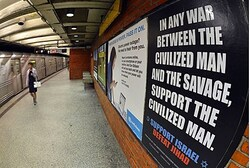 Defeat Jihad ad in New York subway