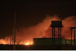 Fire at the Yarmouk ammunition factory in Khartoum