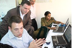 Yuli Edelstein in the Situation Room