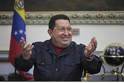 Pres. Hugo Chavez in Caracas Nov. 15