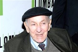 Jack Klugman at the Circle in the Square Theatre on October 21, 2010 in New York City.