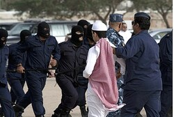 UAE officials remove protesters (illustrative)