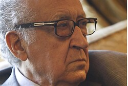 International peace envoy for Syria Lakhdar Brahimi