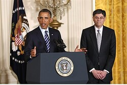 Obama announces his nomination of Jack Lew