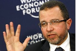 Egypt's Prime Minister Hisham Qandil in Davos