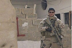 Kyle was responsible for 160 kills during his Navy SEAL career