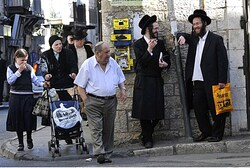 Hareidi Jews in Mea Shearim